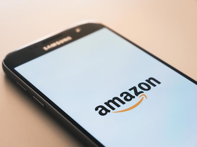 Smartphone mit Amazon