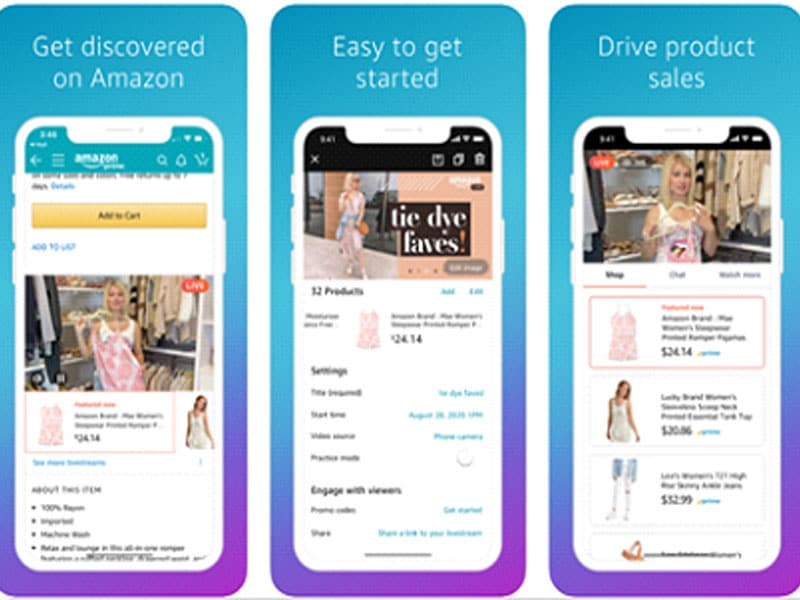 Live-Shopping & Livestreaming